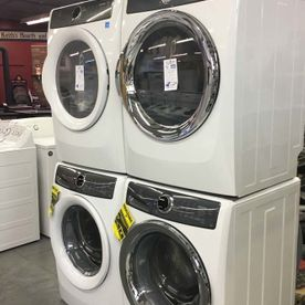 front washer dryer